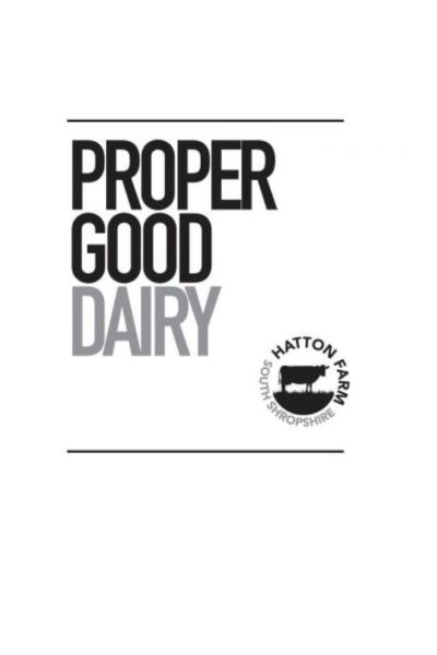 Proper Good Dairy logo
